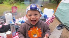 Traveling with Kids: Activities and Food for Toddlers & Preschoolers - Please send along your camping with kids tips!