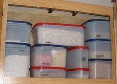 Organizing RV kitchen cupboards