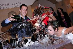 T-Rex ice luge HA! (just sayin')