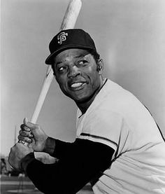 Willie Mays, San Francisco Giants, the greatest baseball player of all time.