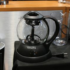 Tea for one? Krups new personal teakettle ($59.99) can brew a pot quickly and boasts an internal circulation system that will keep water moving while it infuses with either loose leaves or teabags