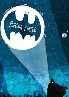 I need a coffee summoning symbol in my everyday life! #ifonlyiwerebatman