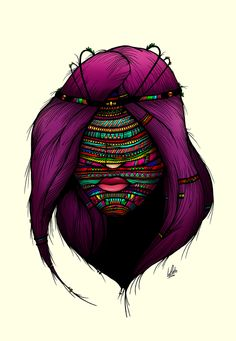 Colorful Roots by Luis Pinto, via Behance