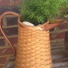 Asparagus Fern in an awesome  Longaberger Basket!