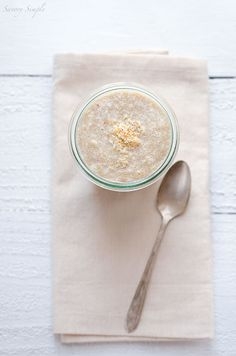 Toasted Coconut Amaranth Porridge