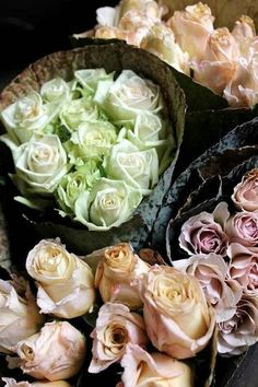 Most Beautiful Bouquets pastel, color palettes, farmers market, spring colors, flower shops, roses, ana rosa, beauty, flowers garden