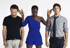 The Walking Dead Season 3 Second Half: Major Characters - PandaWhale