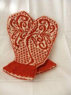 Lillyfield Mittens..free pattern