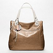 handbag, poppi leather, coach poppi, leather spectat, style