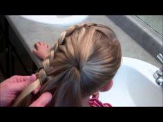 ▶ How to do a Conch Shell or Nautilus Braid - YouTube