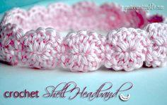 Cute headband--free pattern
