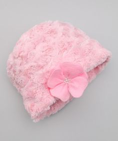 Take a look at this Pink Twist Beanie by Corky & Company on #zulily today!