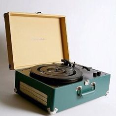 Retro record player so cool, but makes me feel old!