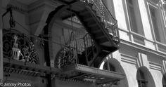 #Paris autrement : Théâtre du Palais Royal - l'escalier - #ThéâtreduPalaisRoyal #ParisPhotos