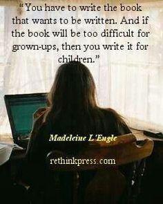 Fantastic writing advice