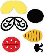 Sizzix Originals - Paper Sculpting, Bee and Ladybug