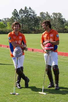 Argentinian polo players