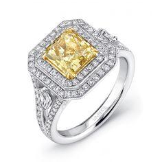 diamond engag, singl diamond, shank set, diamond appeal, yellow diamonds