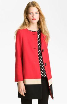 kate spade new york 'garby' wool coat