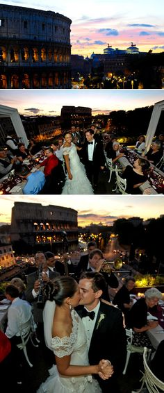 Romantic Rome, Italy Destination Wedding