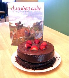 Have a child scared of storms?  Read this book and make a Thunder Cake!