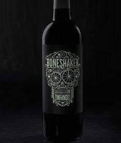 Boneshaker Wine Bottle