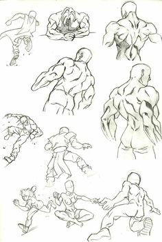 Anatomy Study 7 by marvelmania.deviantart.com on @deviantART