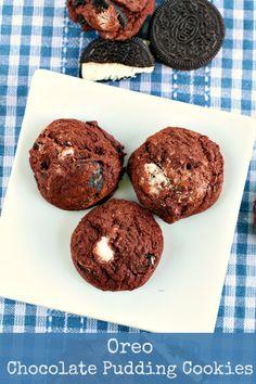 Oreo Chocolate Pudding Cookies