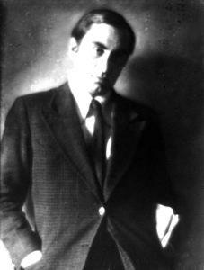 The italian painter Mario Mafai -1930 by Ghitta Carell