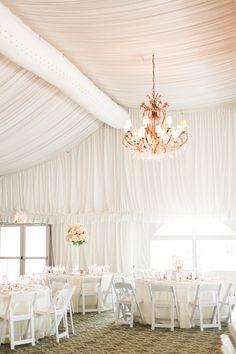 Photography: Kristin La Voie Photography - kristinlavoiephotography.com  Read More: http://www.stylemepretty.com/2014/09/17/classic-blush-chicago-tent-wedding/