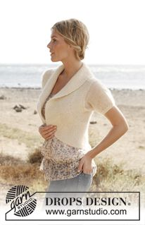 """Knitted DROPS jacket in """"Alpaca"""" and """"Kid-Silk"""". Size: S - XXXL. ~ DROPS Design"""