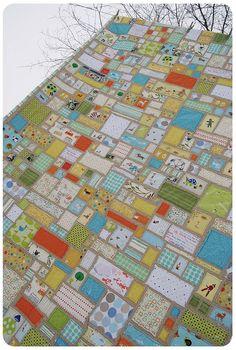 Ticker Tape Quilts! Love them :)