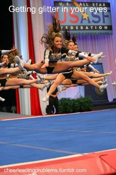 difficulties of cheerleading Conditioning exercises for cheer  to increase the difficulty of the toe touch, you may add gymnastics out of the jump for example, a toe touch back-handspring .