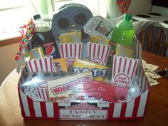 Family Movie Night Gift Box