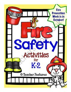 Fire Safety Activities from Teacher Features on TeachersNotebook.com -  (17 pages)  - Be ready for Fire Prevention Week!  Designed to supplement your lessons or provide a starting point, this packet contains math and literacy activities that carry on the Fire Prevention theme.