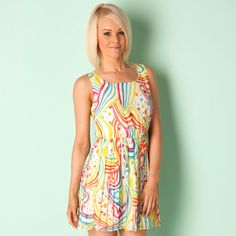 Pop Art Pleat Dress 20s Style  discount pop art  Get the Label  £14.99  http://www.getthelabel.com/fcp/product/pop-art/Dresses/Pleat-Dress-20s-Style/21722?colour=white
