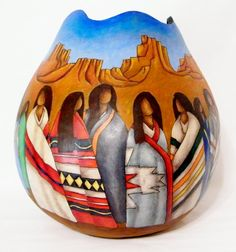 Paintings by Hellen - Fine Art Gourds by Hellen Martin