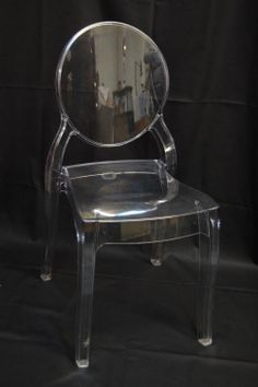 Victoria Perspex Ghost Chair