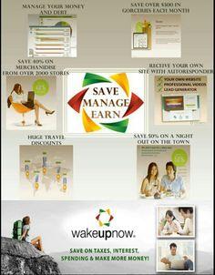 Wake Up Now! Earn Residual Income & Save Money! Contact me @Gail Regan Truax://www.multistream.biz/readytowakeup.php?user=VSRincon