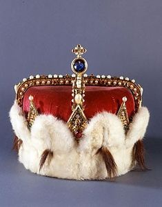 Austrian archducal coronet:  1359-1918. The Austrian archducal coronet is both the 'crown' of the Habsburg patrimonial lands (Upper and Lower Austria in the narrower sense) and at the same time the symbol of the title of archduke or archduchess of Austria. This title, which was intended to underscore the special rank of the Habsburgs among the princes of the Empire, was hereditary in the House of Habsburg. Several examples of this coronet were made.