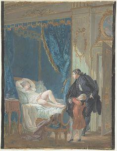 Pierre-Antoine Baudoüin, Le Matin (Morning). (French, Paris 1723–1769 Paris