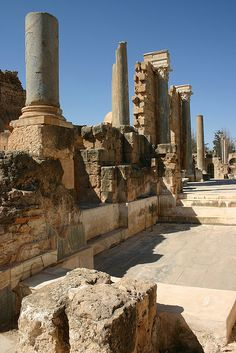 Hadrianic Baths, Leptis Magna, Libya,  Been here!