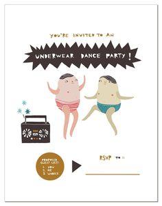 UNDERWEAR DANCE PARTY