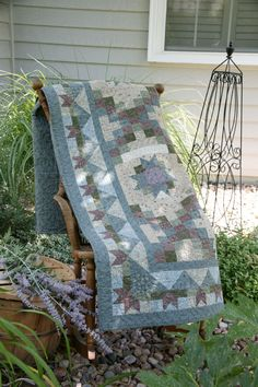 In the Garden by Jen Daly, featured in Quilters Newsletter's Best Fat Quarter Quilts 2012