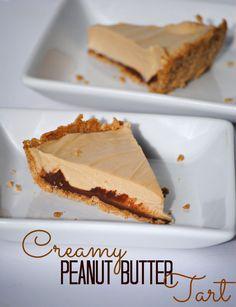 Creamy Peanut Butter Tart