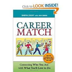"""Career Match"" is a one-of-a-kind guide that uses the author's revealing 10 minute self-assessment to help people discover their ideal work. Featuring in-depth chapters for each personality type, the book shows readers how to find a career that fits their passion and personality, and then shows them how to get it. It is an invaluable resource for those in need of direction, whether they're seeking a new path or trying to confirm that they're already on the right one."