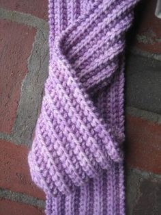 Sage Yarn Blog: 2 Row Reversible Scarf
