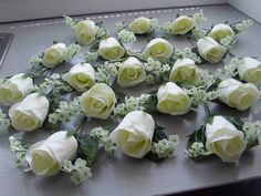 bouquets we do the package for your day we can do for the bride bridemaids flower girls .all same package great prices .