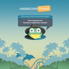EXCITING NEWS: Undercover Tourist is now hopping in Southern California and Orlando-area! Check out our new website with all of our new tickets! https://www.undercovertourist.com/blog/undercover-tourist-in-southern-california/