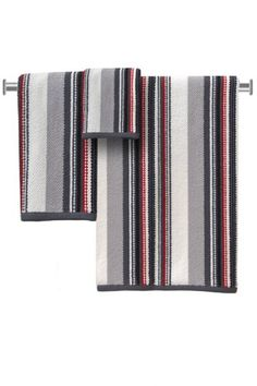 DKNY Urban Stripe Towels